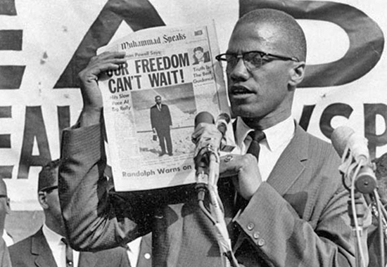 A biography of malcolm x the human rights activist