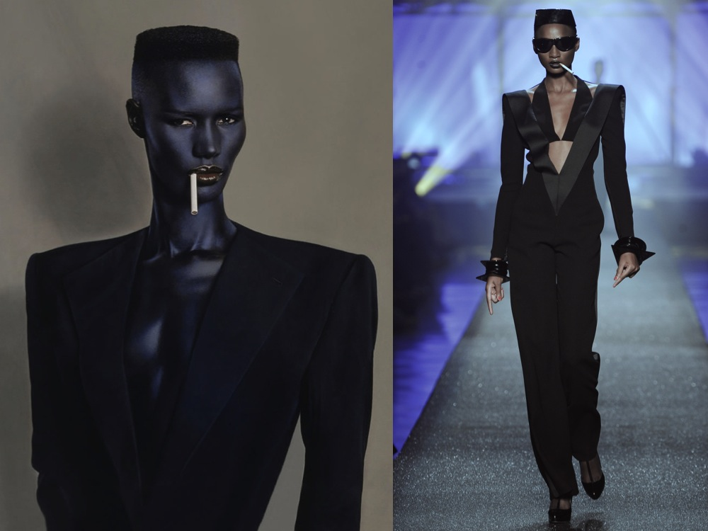 Women 39 s month style inspiration the iconic grace jones urban cusp Grace fashion style chicago